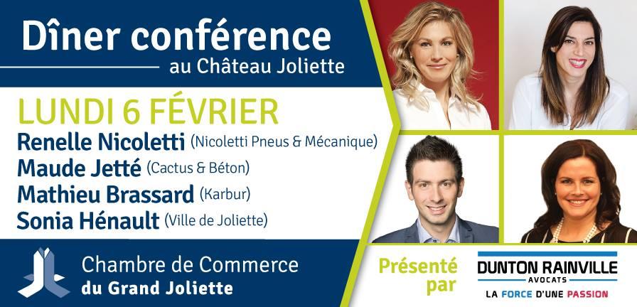 Une conférence spéciale pour le dîner mensuel de la Chambre : la région de Joliette à l'ère numérique