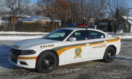 Deux personnes arrêtées après une poursuite policière entre Lavaltrie et  Lanoraie