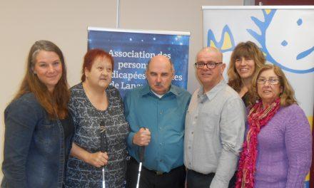 L'Association des Personnes Handicapées Visuelles de Lanaudière reprend son mandat régional