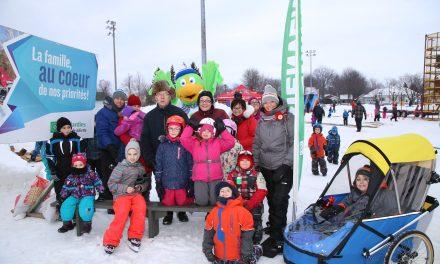 La fête d'hiver de la famille au parc Casavant-Desrochers, un franc succès!