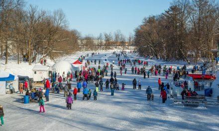 Fermeture officielle de la patinoire sur la rivière L'Assomption