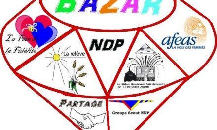 Le bazar de Notre-Dame-des-Prairies aura lieu le 21 et 22 avril prochain.