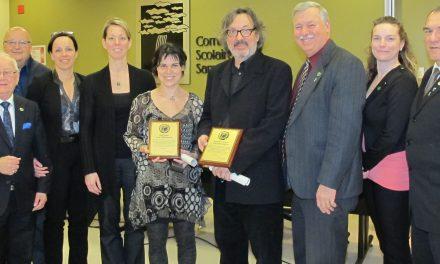 Mention d'honneur pour Annie Gravel et Raymond St-Georges
