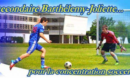 Le programme sport-études en soccer débute dès septembre prochain
