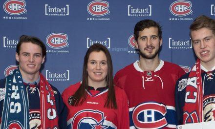 Deux joueurs des Phénix reçoivent une bourse du Canadien