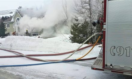 Un incendie endommage une résidence de Saint-Lin