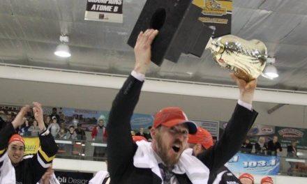 André Lachance remporte la Coupe LHSAM