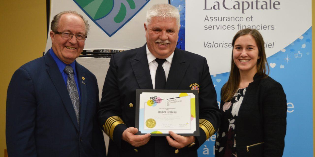 Nouvel honneur pour le directeur du SSI de la MRC de D'Autray