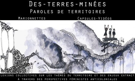 Soirée-conférence «Le territoire et l'extractivisme» le 19 avril au CRAPO