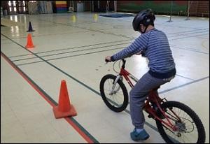 Des élèves de Joliette, cyclistes avertis!
