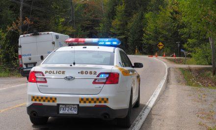 Une poursuite policière fait un blessé à Rawdon