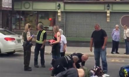Piéton happé à Rawdon : Pas de délit de fuite