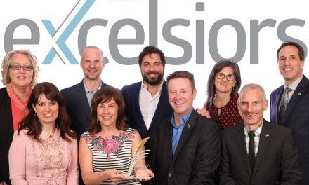 Lauréats de la 31e édition du Gala Excelsiors!