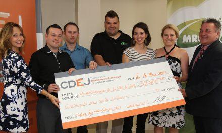 La CDEJ soutient financièrement quatre entreprises de la MRC de Joliette et contribue à la création de 30 nouveaux emplois sur son territoire