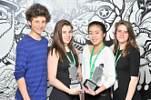 Le grand gagnant de la 16ième édition du concours Festifilm : Je t'ai eu de l'école secondaire Sophie-Barat!
