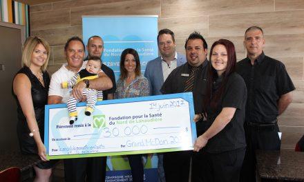 Montant record pour la 12e édition du Grand McDon au profit de la Fondation pour la Santé