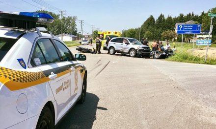 Un accident fait trois blessés à Berthierville