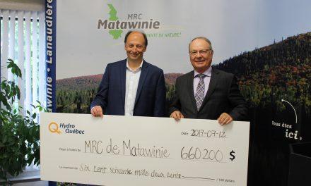 Programme de mise en valeur intégrée d'Hydro-Québec : la MRC de Matawinie investit dans le développement de ses parcs régionaux