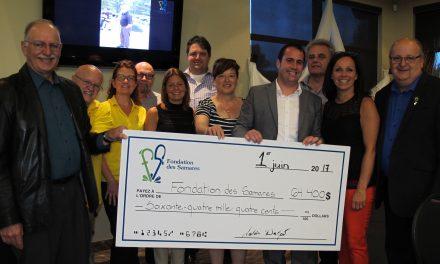 La Classique de golf de la Fondation des Samares : 64 000 fois merci!