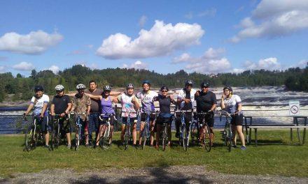 Tour du Lac Saint-Jean à vélo pour sept jeunes autochtones