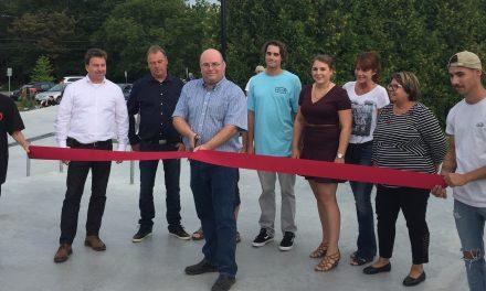 Un succès pour l'inauguration du Skatepark à Saint-Félix-de-Valois