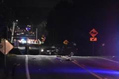 Accident impliquant trois véhicules à Sainte-Julienne