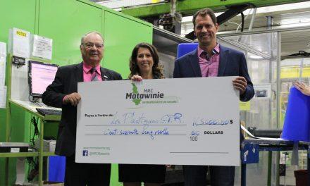 La MRC de Matawinie investit 165 000 $ auprès de Plastiques GPR de Saint-Félix-de-Valois