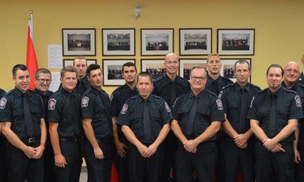 Des diplômes remis à 29 pompiers de la MRC de d'Autray