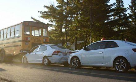 Deux blessés dans un accident impliquant un autobus scolaire
