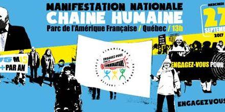 Le Manifeste lanaudois de l'autonomie est appuyé par tous nos député(e)s