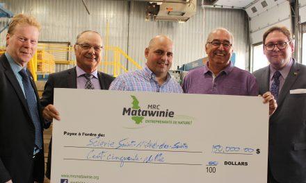 La MRC de Matawinie investit 150 000 $ dans la Scierie Saint-Michel
