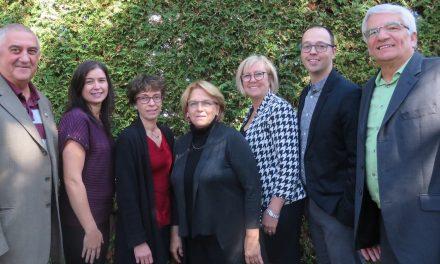 Suzanne Dauphin candidate à la mairie de Notre-Dame-des-Prairies