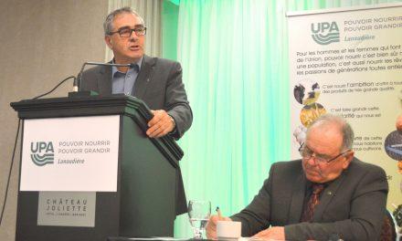 Fiscalité Foncière Agricole: motion d'urgence au congrès régional de l'UPA Lanaudière
