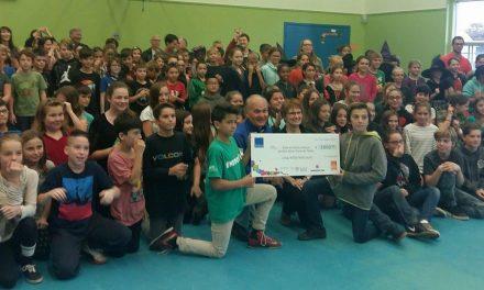 Don record de 5 800 $ pour l'école Notre-Dame-de-Fatima