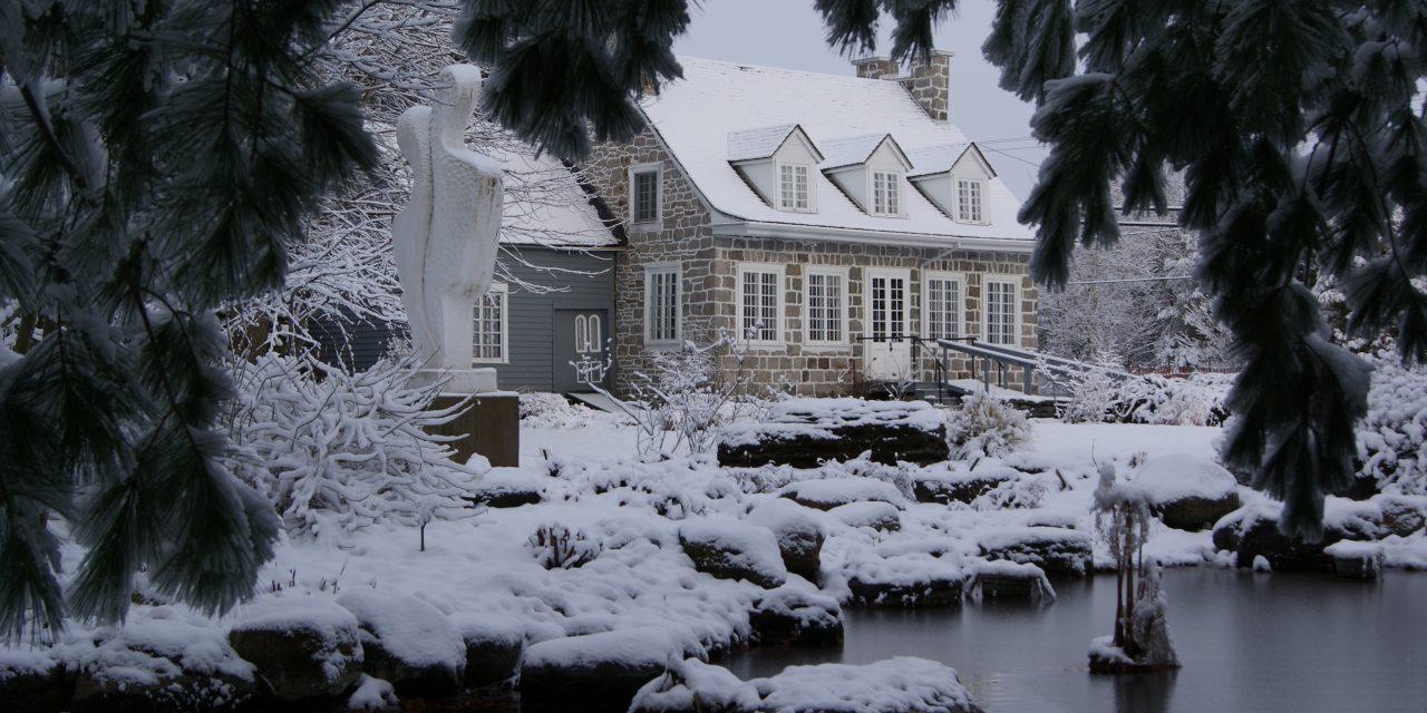 Pensez à la location de la Maison Antoine-Lacombe pour vos fêtes de fin d'année