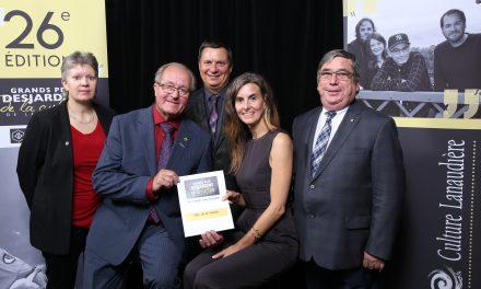 La MRC de D'Autray lauréate d'un prix Coup de cœur Grands prix Desjardins de la culture