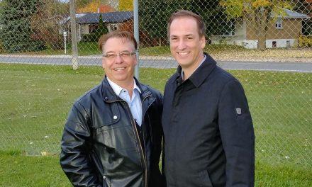 Patrice Trudel et Patrick Lasalle songent à un plus grand terrain de baseball à Joliette