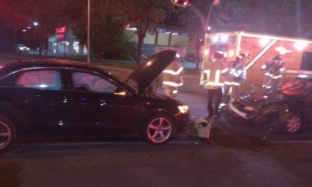 Une collision fait un blessé à Joliette