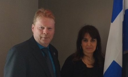 André Villeneuve et Véronique Hivon rencontrent les organismes famille dans Berthier