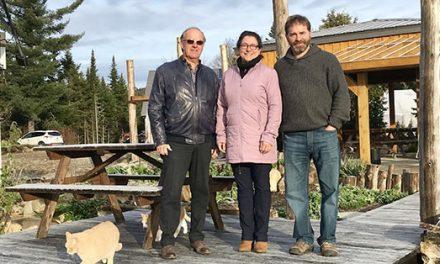 La CDSD appuie la création d'emploi aux Jardins de l'Écoumène