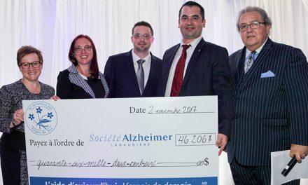 Un record pour la 9e édition du souper spectacle de la Société Alzheimer de Lanaudière !