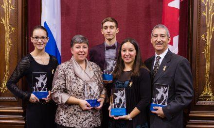 Lanaudière est fort bien représentée à la remise du Prix du bénévolat en loisir et en sport Dollard-Morin
