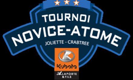 Une 13e édition pour le tournoi Novice-Atome A. Laporte et fils Kubota de Joliette-Crabtree
