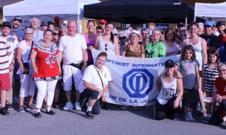 Le Club Optimiste Sainte-Émélie-de-l'Énergie remet 4 370 $ à la Fondation pour la Santé pour le bien-être de sa communauté!