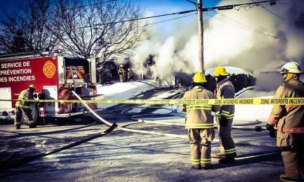 Incendie d'une résidence à Saint-Jacques