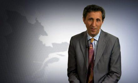 Amir Khadir à la Chambre de Commerce et d'Industrie de la MRC de Montcalm