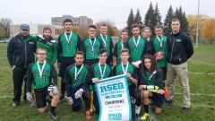 Une première saison couronnée de succès pour l'équipe masculine de Flag Football du Cégep à Joliette