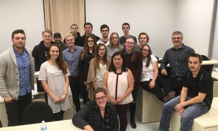 Les étudiants et les étudiantes en gestion de commerces et leur Fondation unis pour une même cause