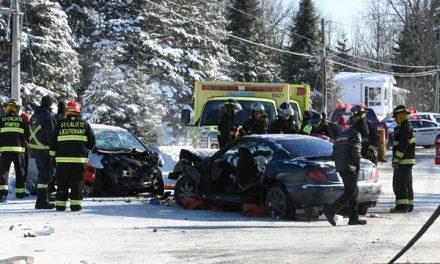 Une collision fait six blessés à Saint-Calixte