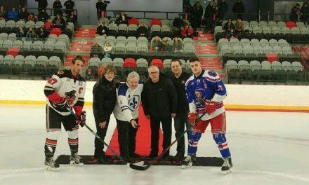 Les Rangers de Montréal-Est rendent hommage à Benoit Ricard